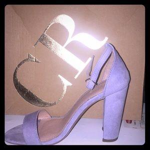 Becca lilac heels